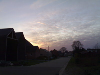 Sunset over Meerhout